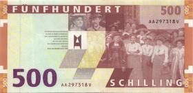 Österreich / Austria P.154 500 Schilling 1997 (1-)