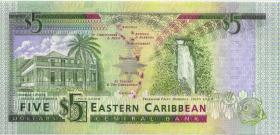 Ost Karibik / East Caribbean P.26a 5 Dollars (1993) (1)