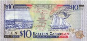 Ost Karibik / East Caribbean P.32a 10 Dollars (1994) (1)