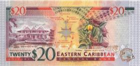 Ost Karibik / East Caribbean P.33a 20 Dollars (1994) Antigua (1)