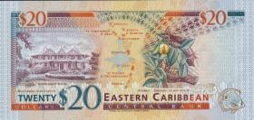 Ost Karibik / East Caribbean P.33u 20 Dollars (1994) (1)