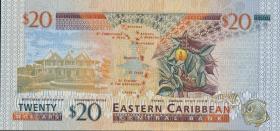 Ost Karibik / East Caribbean P.39g 20 Dollars (2003) Grenada (1)