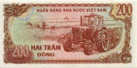Vietnam / Viet Nam P.100s 200 Dong 1987 Specimen (1)
