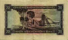 Südafrika / South Africa P.108A 20 Rand (1962-65) (Afrikaans) (3)
