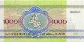 Weißrussland / Belarus P.11 1000 Rubel 1992 (1)