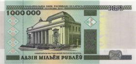 Weißrussland / Belarus P.19 1 Mio. Rubel 1999 (1)