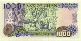 Ghana P.32c 1000 Cedis 2.5.1998 (1)