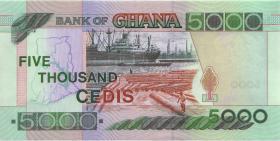 Ghana P.34i 5000 Cedis 2003 (1)