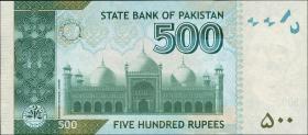 Pakistan P.neu 500 Rupien 2017 (1)