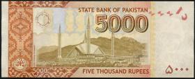 Pakistan P.neu 5000 Rupien 2017 (1)