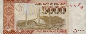Pakistan P.neu 5000 Rupien 2018 (1)