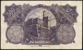 Palästina / Palestine P.06b 500 Mils 1929 (4)