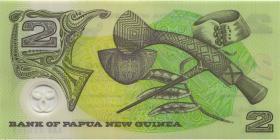 Papua-Neuguinea / Papua New Guinea P.15 2 Kina (1995) Polymer (1)