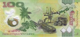Papua-Neuguinea / Papua New Guinea P.neu 100 Kina 2017 Polymer Gedenkbanknote (1)