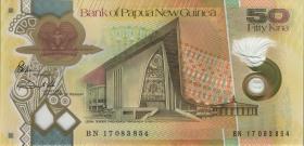 Papua-Neuguinea / Papua New Guinea P.neu 50 Kina 2017 Polymer (1)