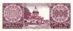 Paraguay P.221 1000 Guaranies 2002 Gedenkbanknote (1)