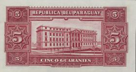 Paraguay P.179 5 Guaranies 1943 (1)