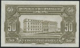Paraguay P.181 50 Guaranies 1943 (1)