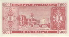 Paraguay P.220b 5000 Guaranies 2003 (1)