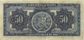 Peru P.072 50 Soles 1951 (3)