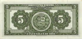 Peru P.083 5 Soles de Oro 1963 (1)