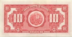 Peru P.084 10 Soles de Oro 1965 (1)