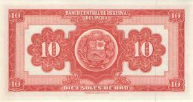 Peru P.084 10 Soles de Oro 1968 (1)