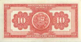 Peru P.084 10 Soles de Oro 1966 (1)