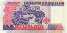 Peru P.138 50000 Intis 1988 (1)