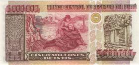 Peru P.150 5.000.000 Intis 1991 (1)