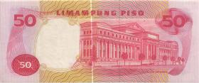 Philippinen / Philippines P.146b 50 Piso (1969) (1-)