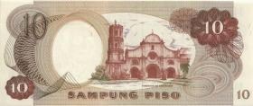 Philippinen / Philippines P.149a 10 Piso (1970) (1)