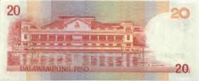 Philippinen / Philippines P.182i 20 Piso 2005 (1)