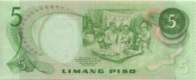 Philippinen / Philippines P.143a 5 Piso (1)