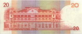 Philippinen / Philippines P.182a 20 Piso (1997) (1)
