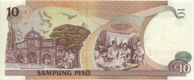 Philippinen / Philippines P.187f 10 Piso 2000 (1)