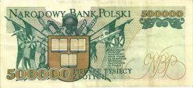 Polen / Poland P.161 500.000 Zlotych 1993 (3)