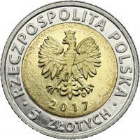 Polen 5 Zlotych 2017 Zentrale Industrieregion