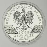 Polen / Poland 20 Zloty 2008 Falke