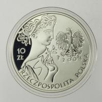 Polen / Poland 10 Zloty 2004 Olympische Sommerspiele Athen - Fechten