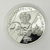 Polen / Poland 10 Zloty 2005 Dichter Konstanty Ildefons Galczynski