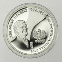"""Polen / Poland 10 Zloty 2008 Herbert Zbigniew """"Nike"""""""