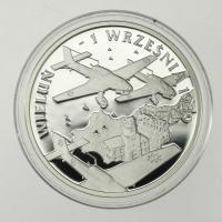 Polen / Poland 10 Zloty 2009 70. Jahrestag des Einmarsches deutscher und russischer Truppen