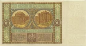 Polen / Poland P.071 50 Zlotych 1929 (1/1-)