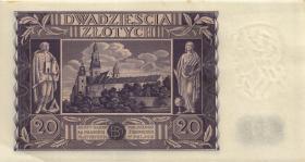 Polen / Poland P.077 20 Zlotych 1936 (1/1-)