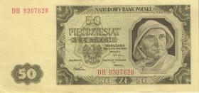 Polen / Poland P.138 50 Zlotych 1948 (2)