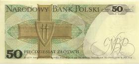Polen / Poland P.142a 50 Zlotych 1975 G (1-)
