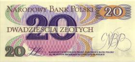 Polen / Poland P.149 20 Zlotych 1982 Serie A (1)