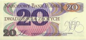 Polen / Poland P.149 20 Zlotych 1982 Serie R (1)