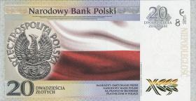 Polen / Poland P.neu 20 Zlotych 2018 100 Jahre Unabhängigkeit (1)
